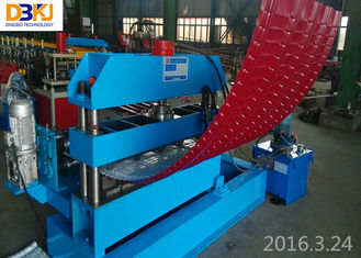 0-8m / Min Portable Punching Speed Metal Roofing Machine For Resorts