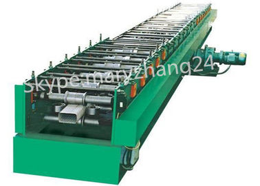7.5kw Main Motor Power Downspout Roll Forming Machine Controlled by PLC