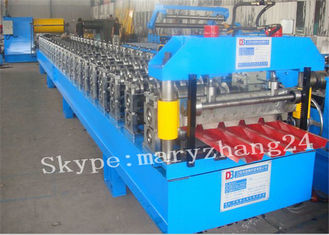 Automatic Double - Layer Roof Panel Roll Forming Machine With Toching Screen