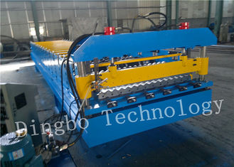 Corrugated Steel Metal Roll Forming Machine with Speeds Up to 30 m / min