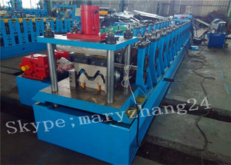 Two Waves Guardrail Roll Making Machinery With PLC Panasonic Control
