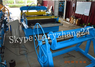 5.5Kw Hydraulic Automatc Cut To Length Machine With Material Thickness 0.5-2mm
