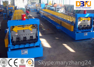 Steel structure metal deck roll forming machine steel floor decking cold roll forming machine