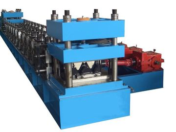 PLC GuardRail Roll Forming Machine With GCR15 Bearing Steel For Highways