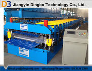 0.8~1.2mm Thickness metal roof roll forming machine , roofing sheet roll forming machine